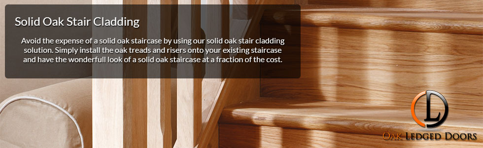 Oak Stair Cladding