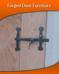 Black Antique Door Furniture