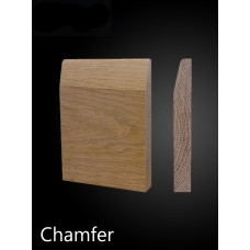 Solid Oak Chamfer Architrave & Skirting