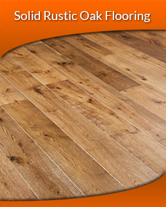 Solid Rustic Oak flooring